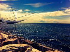 Mar Adriático - Diga - Chioggia - Venecia - Italia