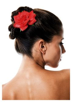 Hairstyles In Spanish : ... hairstyle on Pinterest Flamenco, Vintage Hair Combs and Spanish Hair
