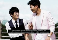 Protect the Boss ♥  Ji Sung as Cha Ji Heon ♥ Kim Jaejoong as Cha Mu Won