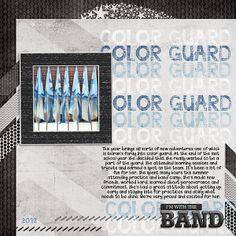 color guard - Scrapbook.com