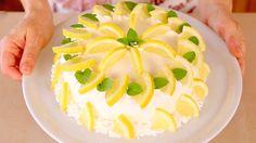 TORTA DELIZIA AL LIMONE di BENEDETTA Ricetta facile - Lemon Roll Cake Ea...