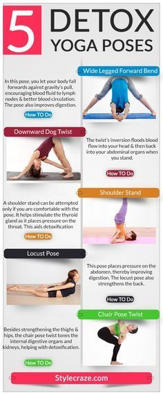 5 Detox yoga poses