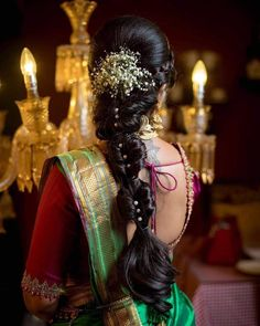 21 Stylish And Beautiful Indian Hairstyle For Saree - Deana Hackworth - 21 Stylish And Beautiful Indian Hairstyle For Saree 21 Stylish And Beautiful Indian Hairstyle For Saree Indian Hairstyles For Saree, South Indian Wedding Hairstyles, Bridal Hairstyle Indian Wedding, Bridal Hair Buns, Saree Hairstyles, Bridal Hairdo, Hairdo Wedding, Braided Hairstyles For Wedding, Elegant Hairstyles