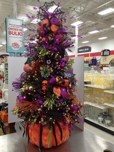 image result for images of halloween decorated trees halloween christmas tree halloween ornaments holiday - Halloween Christmas Decorations