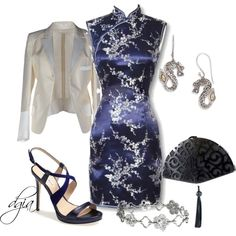 Asian Influence, created by dgia on Polyvore