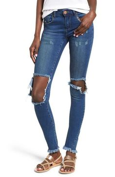 One Teaspoon Bonnie Distressed Super Duper Denim.  ($135)