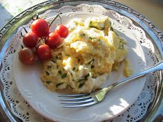Cream Cheese Scrambled Eggs. Photo by BecR