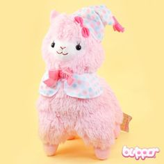 Good Night Alpacasso Plush - Medium / Pink