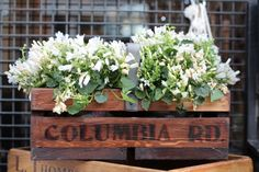 Columbia Rd. flower sign