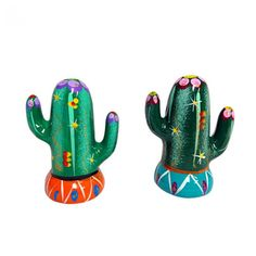 Cactus Salt and Pepper Shaker, Graham & Green Salt Pepper Shakers, Salt And Pepper, Quick Garden, Al Fresco Dining, Kitsch, Cactus, Tropical, Pottery, Floral