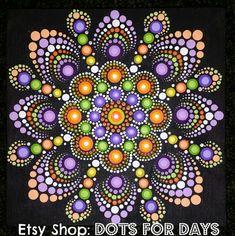 Dot mandala art by lizz daley dot mandala art, dot mandala, Dot Art Painting, Mandala Painting, Pebble Painting, Painting Patterns, Stone Painting, Mandala Painted Rocks, Mandala Rocks, Hand Painted Rocks, Mandala Canvas