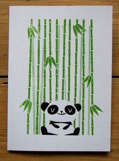 Happy Panda $3.30 on etsy from peskimo