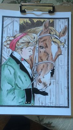 Creative Haven American Beauties Coloring Book (Adult Coloring): Carol Schmidt, Elegant Coloring  By Becky on Oct 10, 2015  This is a nice book and the pages are easily removed. For inspiration, you can check out the original artwork by Harrison Fisher.