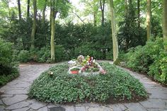 Tumba de Richard Wagner en Wahnfried (Bayreuth).