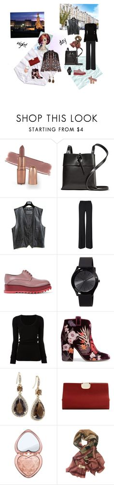 """Basic black - Day/Night"" by happiestime ❤ liked on Polyvore featuring Kara, Roland Mouret, Jil Sander, MICHAEL Michael Kors, DRKSHDW, Laurence Dacade, Carolee, MANGO, Too Faced Cosmetics and Burberry"