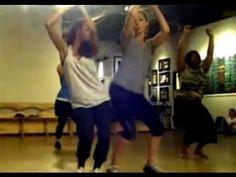 Kat Graham & Candice Accola dance, filmed by Nina Dobrev [The Vampire Diaries] - YouTube