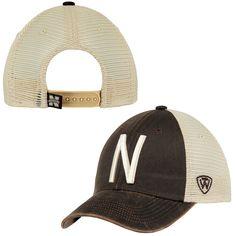 half off ac6a4 6d42d Men s Top of the World Brown Nebraska Cornhuskers Scat Mesh Trucker  Adjustable Hat