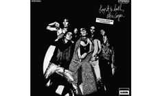 Alice Cooper, 'Love It to Death' (1971).  Äh, ist das da auf dem Cover der Daumen von Alice Cooper, oder doch etwas anderes?