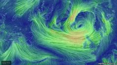wind patterns round weather bomb of dec 10th 2014