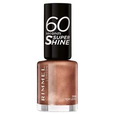 Rimmel London 60 Seconds Nail Polish Topless | Wilko Rimmel, Maybelline, Drugstore Makeup Dupes, Beauty Dupes, Beauty Makeup, Revlon, 60 Seconds, Hard Candy Makeup, Drugstore Foundation