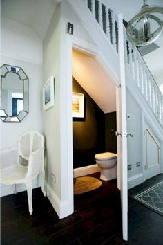 15 Genius under Stairs Storage Ideas What to Do With Empty Space Under Stairs . 15 Genius under Stairs Storage Ideas What to Do With Empty Space Under Stairs Understairs Storage Empty Genius Ideas Space stairs storage der Treppe Small Basements, Bathrooms Remodel, Room Under Stairs, Home Remodeling, Home, Powder Room Design, Bathroom Design, Small Basement Remodel, Bathroom Under Stairs