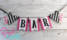 by LovinglyMine on Etsy. Kate Spade Inspired Party Theme