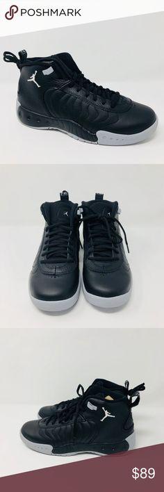Air Jordan Jumpman Pro XII Black Grey White GS Grade School Sz 6.5 907973-022