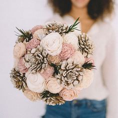Free the Gypsy ecoflower wedding bouquet gorgeous!