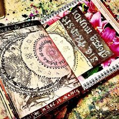 Jenndalyn Art #sketchbook #artjournal #mixedmedia #collage