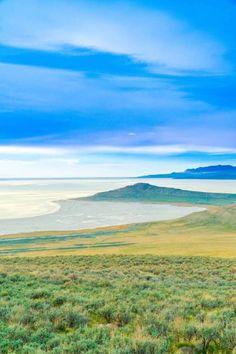 Antelope Island, Utah, USA