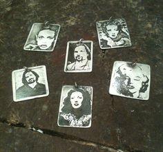 Metal Printmaking – Cass' photo etched pendants. Printmaking Ideas, Soldering, Workshop, Students, Pendants, Construction, Metal, Jewelry, Engraving Ideas