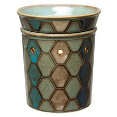 Tunis Scentsy Warmer DELUXE Hand-painted tiles dance across this warmer in a mosaic print inspired by ancient Middle Eastern architecture, weaving a pattern of sea and shell. Scent Warmers, Wax Warmers, Scentsy, Candle Wax Warmer, Boys Room Decor, Scented Wax, Hand Painted, Painted Tiles, Weaving