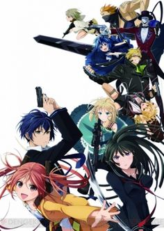 Black Bullet ~i just started watching the first episode.  It's a top anime and sounds really cool.