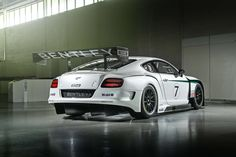 """OZ Racing Wheels 18"""" on Bentley Continental GT3: top wheels for great cars! #OZRACING"""