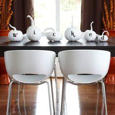 Classy Halloween idea!