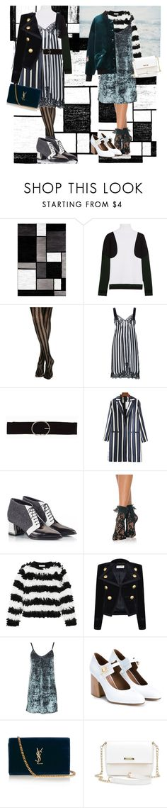 """slip dresses"" by pasteldemerme ❤ liked on Polyvore featuring Alpine, Tod's, Givenchy, Vero Moda, Chicnova Fashion, Alberto Guardiani, Leg Avenue, MaxMara, Yves Saint Laurent and Topshop"