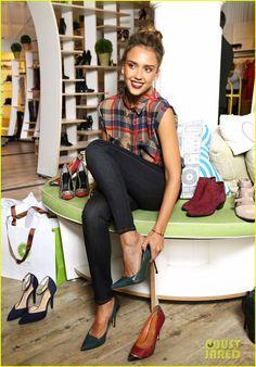 Jessica Alba: Piperlime Welcomes Its New Guest Editor!   2013 New York Fashion Week Fall, Cash Warren, Celebrity Babies, Haven Warren, Jessica Alba Photos   Just Jared