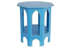Studded Moroccan Table >> This piece is awesome!
