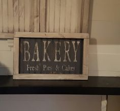 Vintage look and distressed beadboard bakery by ATouchofChic
