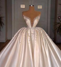 Fancy Wedding Dresses, Glam Dresses, Princess Wedding Dresses, Wedding Attire, Bridal Dresses, Wedding Gowns, Luxury Wedding Dress, Stunning Dresses, Stunning Wedding Dresses