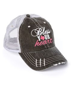 Loving this Gray  Bless Your Heart  Baseball Cap on  zulily!  zulilyfinds a9649014f60c