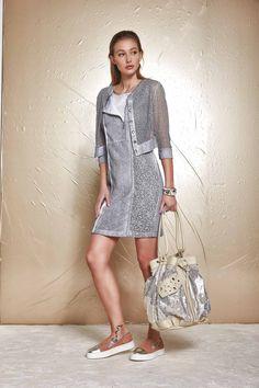 DANIELA DALLAVALLE - Lookbook #collection #PE17 #woman #elisacavaletti #danieladallavalle #shoes #bag #dress #jacket #bracelet