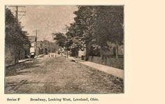 Broadway, looking West - Loveland Loveland Ohio, Historical Photos, Cincinnati, Country Roads, History, Broadway, Photography, Historical Pictures, Historia