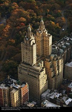 San Remo apartments on Central Park, New York City