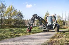 Maanrakennus Markku Vikstedt Oy & Lännen 8600G  #Lannen #Lännen #backhoe #machine #municipal_works #infra