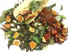 Weight loss - Hojicha green tea with medicinal herbs ginger orange flavor - Japanese kampo weight loss green tea shop