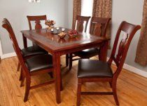 Sonoma Rectangular Wood Dining Room Set - Click pics for price Dining Room Furniture Sets, Room Set, Dining Table, Wood, Home Decor, Modern, Decoration Home, Woodwind Instrument, Room Decor