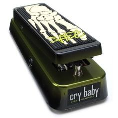 This is the Kirk Hammett (Metallica) signature cry baby wah pedal, it's the same kind of pedal made legend by Jimi Hendrix. Add character and personality to your guitar solos. Details here: http://www.easylearn2playguitar.com/recommends/hammettwah