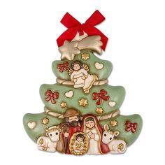 Árbol De Navidad Con Sagrada Familia - Thun