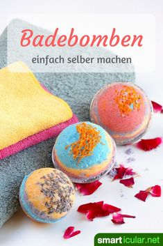 Sparkling bath bombs make simple household remedies yourself- Sprudelnde Badebomben selber machen aus einfachen Hausmitteln Who does not like to enjoy a relaxing full bath that … - Pot Mason Diy, Mason Jar Crafts, Mason Jars, Galaxy Bath Bombs, Fizzy Bath Bombs, Bomb Making, Diy Wall Shelves, How To Make Paper, Diy Beauty